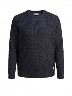 Jack & Jones - Herren Pullover, JCOSTANFORD KNIT CREW NECK - PS, (Art.12146220)