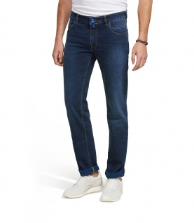 Meyer - Herren Five Pocket Stretch Cross Hedge Denim (10oz.), M5 Slim (9-6207)