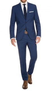 Fashion Fit - Herren Anzug in Deep Ocean Blue, Mario G/Gio (1510 00)