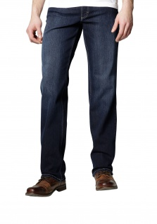 Mustang - Herren 5-Pocket Jeans, Medium rise/Straight Leg, Farbe old stone used, Big Sur (3169-5126-580)
