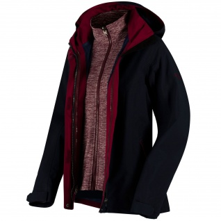 Regatta - Damen 3-in-1 Funktionsjacke, Wasserdicht und Atmungsaktiv, Calyn