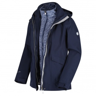 Regatta - Damen 3-in-1 Funktionsjacke, Wasserdicht und Atmungsaktiv, Calyn III (RWP291)