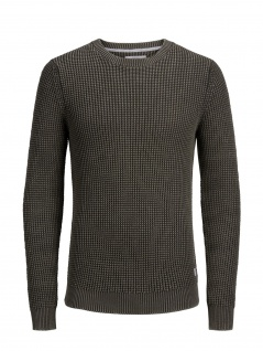Jack & Jones - Herren Pullover, JORWALSH KNIT CREW NECK, (Art. 12143946)