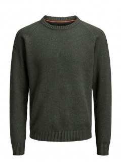 Jack & Jones - Herren Pullover, JPRASH KNIT CREW NECK (Art. 12143333)