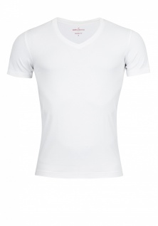 Daniel Hechter - Shaped Fit - Doppelpack Herren Kurzarm T-Shirt in weiß, S-3XL (470 10281)