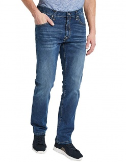 Pioneer - 5-Pocket Herren Jeans in der Farbe stone used with buffies, Regular Fit, RANDO (1674 9763 361)