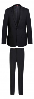 Konfirmation - Thomas Goodwin - Slim Fit - Herren Mix&Match Anzug in schwarz, TOM/TOBY (44020)