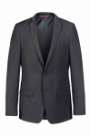 Thomas Goodwin - Slim Fit - Herren Mix&Match Anzugsakko in anthrazit, TOM (20040-7508-0)