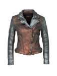 Freaky Nation - Damen Lederjacke, Disco Fever (317242)