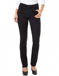 Pioneer - Damen 5-Pocket Jeans in der Farbe Schwarz, Regular Fit, Kate (3213 6131 00)