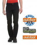 Maier Sports- Herren Outdoor- Touren - und Wanderhose in Black Artikel Naturno (136003)