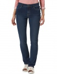 Pioneer - Damen 5-Pocket Jeans in der Farbe blue dark stone used, Passform: Regular Fit, Kate (3211 6097 14)