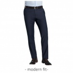 CLUB of GENTS - MODERN FIT - Herren Baukasten Hose in Dunkelblau, Archiebald (20-025S0)