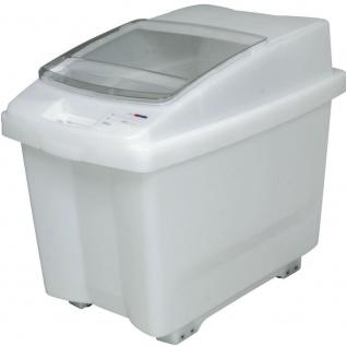 100 Liter Futtermittelbehälter mit Rollen, BxTxH 465 x 705 x 580 mm, PE-HD