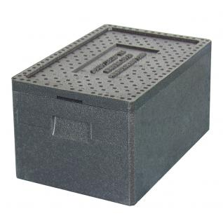 Thermobox, 38 Liter, 600 x 400 x 280 mm, Farbe anthrazit (20100)