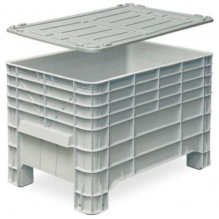 Mehlbox mit 4 Füßen, inkl. Deckel, LxBxH 1030 x 630 x 670 mm, 276 Liter