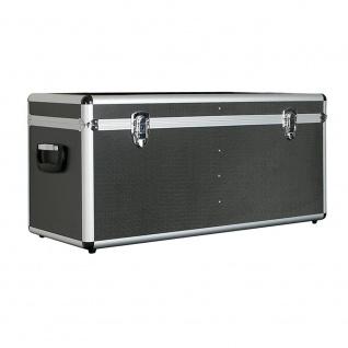 Alurahmen Box, 65 Liter, LxBxH 680 x 310 x 320 mm, anthrazit, abschließbar