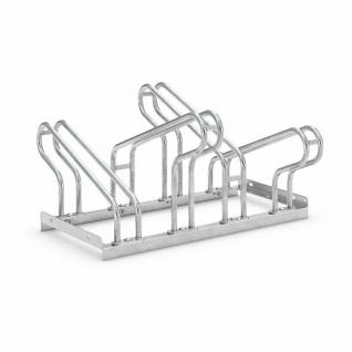 Fahrradständer, zweiseitig, 2x2 Fahrrad-Einstellplätze, Reifenbreite bis 55 mm