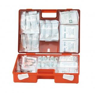 3 Erste-Hilfe-Koffer, Inhalt nach DIN 13157 + 1x Pflasterspender