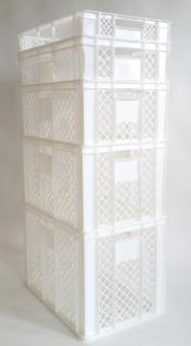 B-Ware Kisten Stapelbehälter Lagerkasten Brötchenkorb Kunststoffkiste Kistenset - Vorschau 1