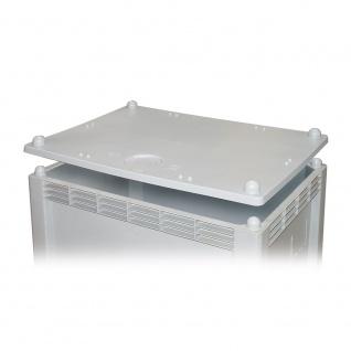 Stapeldeckel für Palettenbox, LxB 1000 x 700 mm, hellgrau