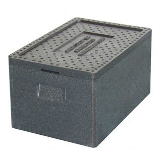 Thermobox, 38 Liter, 600 x 400 x 280 mm, Farbe anthrazit