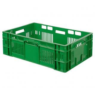 Gemüsekiste / Stapelkorb, LxBxH 600 x 400 x 200 mm, 38 Liter, Industriequalität