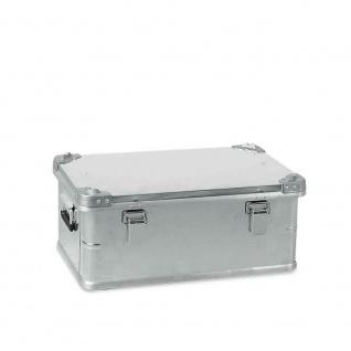 42 Liter Alubox, staub- und spritzwasserdicht, LxBxH 580 x 380 x 245 mm