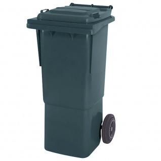 Mülltonne, Inhalt 60 Liter, grau, BxTxH 445x520x930 mm, hohe Ausführung