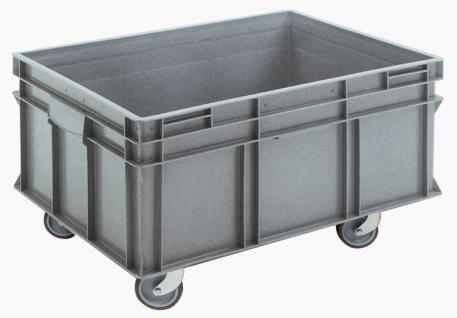 Stapelbehälter Volumenboxen Griffleiste Rollbehälter Kunststoffbehälter 55831