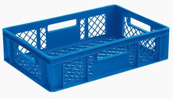 5x Stapelbehälter Lagerkasten Brötchenkorb Kunststoffkiste Lagerkiste 55411 - Vorschau