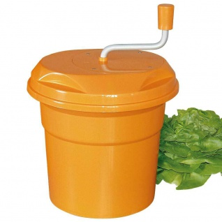 Gastro Salatschleuder, Inhalt 12 Liter, HxØ 430 x 330 mm, orange