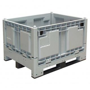 Großbox / Klappbox / Faltbox / Kommissionierbox LxBxH 1200 x 1000 x 850 mm, 670 Liter