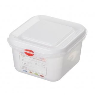 GN-Vorratsdose/Frischhaltebox mit Deckel, GN1/6, LxBxH 176 x 162 x 100 mm, Inhalt 1, 7 Liter - Vorschau