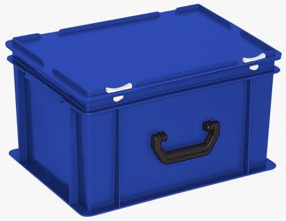 Kunststoffkoffer Mehrzweckkoffer Transportkoffer Eurokoffer Stapelbehälter 55003 - Vorschau