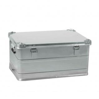 93 Liter Alubox, staub- und spritzwasserdicht, LxBxH 685 x 490 x 340 mm