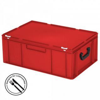 Kunststoffkoffer / Transportkoffer / Gerätekoffer, Industriequalität - LxBxH 600 x 400 x 230 mm, 43 Liter