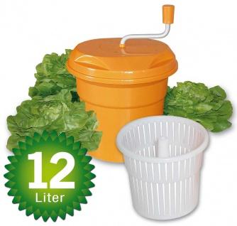 Salatschleuder Inhalt 12 Liter, ØxH 330x430 mm