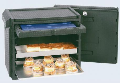 Thermobox Transportbox Fronteinschubbox Kuchenblech-Thermobox Isobox