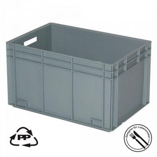 Stapelkasten, Industriequalität, LxBxH 600 x 400 x 340 mm, 65 Liter, lebensmittelecht