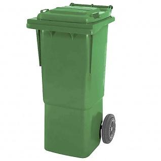 Mülltonne, Inhalt 60 Liter, grün, BxTxH 445x520x930 mm, hohe Ausführung
