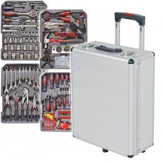 Alu-Werkzeugtrolly, Koffermaße 510x385x240 mm