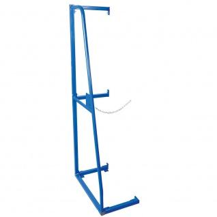 Anbauregal für Senkrechtregal, HxBxT 1500x600x330 mm, Gewicht 7 kg, Farbe blau