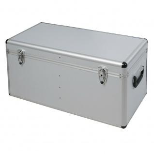 Alurahmen Box, 100 Liter, LxBxH 730 x 380 x 360 mm, silber, abschließbar