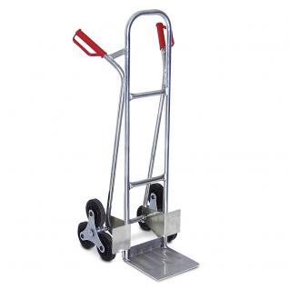 Treppenkarre aus Aluminium, Tragkraft 150 kg, 1210 x 600 x 560 mm (52812) - Vorschau