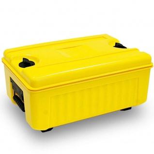 Isolier Transportbox, -40° bis +100°C, Top-Lader, 35 Liter, gelb, 620x420x405 mm