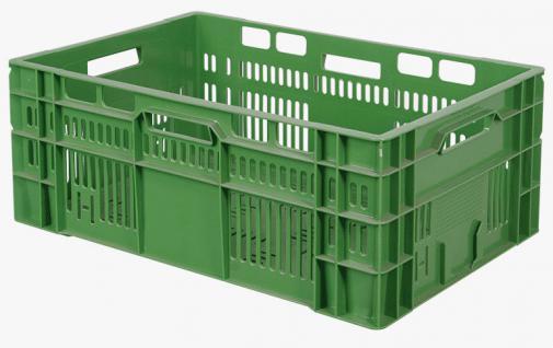 Gemüsekiste Obstkiste Tomatensteige Stapelbehälter Gitterkorb 55844 - Vorschau