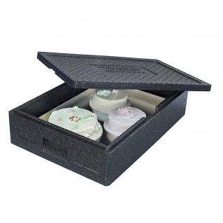 Thermobox, 21 Liter, 685 x 485 x 140 mm, Farbe anthrazit (22830) - Vorschau