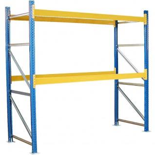 Palettenregal, HxBxT 3000 x 2925 x 1100 mm, Fachlast 2600 kg/Tragbalkenpaar