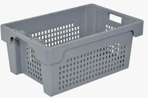Drehstapelbehälter Stapelbehälter Platzsparbehälter Kunststoffkasten 34083 - Vorschau